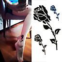 baratos Tatuagens Temporárias-1 pcs Tatuagens temporárias Descartável / Alta qualidade, livre de formaldeído Mãos / tornozelo Laminação Tatuagem Adesiva / Etiqueta do tatuagem