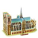 ราคาถูก จิ๊กซอว์3D-3 d ปริศนาของวิหาร Notre Dame แห่งปารีส