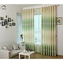 billiga Mörkläggningsgardiner-blackout gardiner draperier en paneler sovrum polyester print & jacquard