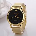 ราคาถูก รองเท้าแตะ-สำหรับผู้หญิง นาฬิกาแฟชั่น นาฬิกาตกแต่งข้อมือ นาฬิกาข้อมือ นาฬิกาอิเล็กทรอนิกส์ (Quartz) โลหะผสม วงดนตรี กีฬา ทอง / Rose Gold - ขาว สีดำ