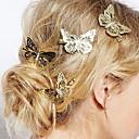 Χαμηλού Κόστους Αξεσουάρ κεφαλής για πάρτι-Γυναικεία Κομψό Κράμα Καρφίτσες Μαλλιών Φροντίδα μαλλιών Καθημερινά