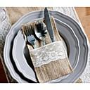billige Serveringssett-Materiale / Jute Klassisk Tema / Ferie Polyester Veske Gaver / Andre