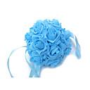 ราคาถูก ชุดโต๊ะกลาง-ดอกไม้สำหรับงานแต่งงาน ช่อดอกไม้ อื่นๆ การตกแต่ง งานแต่งงาน งานปาร์ตี้ / งานราตรี วัสดุ ผ้าไหม ซาติน โฟม 0-20ซม.