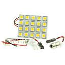 Χαμηλού Κόστους Εσωτερικά Φώτα Αυτοκινήτων-1 Τεμάχιο T10 / BA9S / SV8.5 Αυτοκίνητο Λάμπες 4 W SMD 5050 220 lm 20 LED εσωτερικά φώτα Για Universal