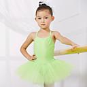 Χαμηλού Κόστους Ρούχα για μπαλέτο-Μπαλέτο Φορμάκια Εκπαίδευση / Επίδοση Spandex / Τούλι Αμάνικο Πριγκίπισσα Φόρεμα