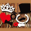 ราคาถูก ของประดับตกแต่งงานแต่งงาน-บูธอุปกรณ์ถ่ายภาพประกอบฉาก Pearl Paper เครื่องประดับจัดงานแต่งงาน งานแต่งงาน / ปาร์ตี้ ชายหาด / ธีมสวน / Vegas Theme ฤดูใบไม้ผลิ / ฤดูร้อน / ตก