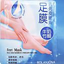 billige Skin Care-eksfolierende fot maske høyeffektive død hud skjel remover scholl sosu foten spa produkter 1pair
