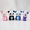 billiga Skrivande-tecknad panda avtagbar diy gummi gummi student barn priser gåva samla leksak