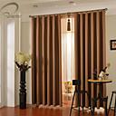 billiga Mörkläggningsgardiner-land curtains® en panel glod fast mörkläggningsgardin