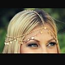 billiga Huvudsmycken till fest-Dam Kedja Elegant Legering Hårband Hair Charms Party Dagligen