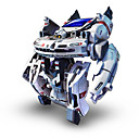 baratos Robôs-Robô Brinquedos a Energia Solar 7 In 1 Alimentado a Energia Solar Recarregável Brinquedos Dom