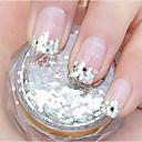billiga spik Glitter-1 pcs Glitter Paljetter nagel konst manikyr Pedikyr Dagligen Abstrakt / Bröllop / Mode