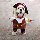 billiga Modeörhängen-Katt Hund Huvtröjor Snusnäsdukar och mössor Hundkläder Kaffe Kostym Terylen Cosplay S M L