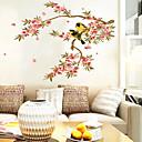 ราคาถูก สติกเกอร์ติดผนัง-สัตว์ต่างๆ ลวดลายดอกไม้ การ์ตูน สติกเกอร์ติดผนัง Plane Wall Stickers สติ๊กเกอร์ประดับผนัง, ไวนิล ของตกแต่งบ้าน รูปลอกผนัง กำแพง