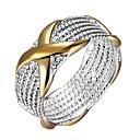 Χαμηλού Κόστους Χαραγμένο Δαχτυλίδια-Γυναικεία Γιούνισεξ Band Ring Δακτύλιος Δήλωσης Δαχτυλίδι Ασημί Ασήμι Στερλίνας Circle Shape Geometric Shape Ευρωπαϊκό Καθημερινά Κοσμήματα
