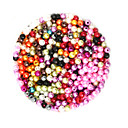 Χαμηλού Κόστους Χάντρες-DIY Κοσμήματα 2000 τεμ Ștrasuri Πλαστική ύλη Κυκλικό Round Shape Χάντρα 0.4 cm DIY Κολιέ Βραχιόλια