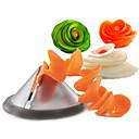 cheap Fruit & Vegetable Tools-Funnel Model Spiral Slicer Vegetable Shred Salad Carrot Radish Cutter