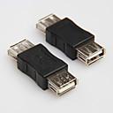 billiga USB-USB 2.0 typ A hona till hona sladd kabel kopplingsanordning omvandlare kontakt växlare extender kopplare