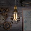 billiga Island Lights-Hängande lampor Glödande Målad Finishes Metall Ministil 110-120V / 220-240V Varmt vit Glödlampa inkluderad / E26 / E27
