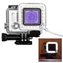 billige avstressere-Beskyttende Etui USB LED Til Action-kamera Gopro 6 Gopro 5 Gopro 4 Gopro 4 Silver Gopro 4 Black Plast / Gopro 3 / Gopro 3+ / Gopro 3/2/1 / Gopro 3 / Gopro 3+