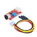 billiga Sensorer-ljudsensor (röd) 1 hål vit terminal med 3pin dupont tråd
