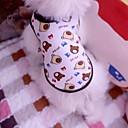 billiga Action- och leksaksfigurer-Katt Hund T-shirt Hundkläder Regnbåge Kostym Cotton Tecknat Cosplay Bröllop XS S M