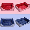 זול מיטות כלבים & שמיכות-מיטה לחיות מחמד צורת תיבה חמודה פוליאסטר צבע הרב לחתולים כלבים 58 * 45 * 14 סנטימטר / 23 * 18 * 6 אינץ '