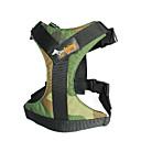 billiga Mörkläggningsgardiner-Hund Halsband Coat Harness Hundkläder Kamoflagefärg Svart / Orange Röd Kostym Blandat Material S M L XL