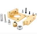 povoljno Dijelovi i dodaci za 3D printer-mk8 ekstruder aluminijski blok makerbot ekstruziju glava aluminijska blok za 3D printer