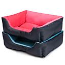 ราคาถูก ผ้าม่าน-ฟอร์ดร่วมสมัย 50 x 40 ซมสัตว์เลี้ยงสี่เหลี่ยมผืนผ้าตารางบ้านเตียงสำหรับสุนัข& แมว (สีสารพันของเล่นกระดูกไม่รวม)