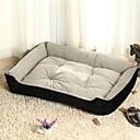 Χαμηλού Κόστους Κρεβάτια & Κουβέρτες σκυλιών-πολλαπλών χρώμα βαμβάκι χαριτωμένο σχήμα κουτιού κρεβάτι κατοικίδιων ζώων για σκύλους γάτες 70 * 52 * 15 εκατοστά / 28 * 20 * 6 ιντσών