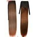billiga Hästsvansar-Hästsvans Syntetiskt hår Hårstycke HÅRFÖRLÄNGNING Rak