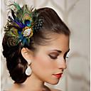 Χαμηλού Κόστους Πίνακες με Λουλούδια/Φυτά-Φτερό Αξεσουάρ μαλλιών Φτερό Αξεσουάρ Περούκες Γυναικεία τεμ 6-10cm cm