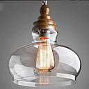 billige Island Lights-Bowl Anheng Lys Nedlys Malte Finishes Krystall 110-120V / 220-240V Gul Pære ikke Inkludert / E26 / E27