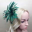 povoljno Party rukavice-Perje Fascinators / Cvijeće s 1 Vjenčanje / Special Occasion Glava