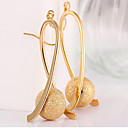 cheap Earrings-Women's Drop Earrings Long Beads Drop Ladies Elegant Italian Gold Plated Earrings Jewelry Gold For