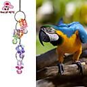 billiga Tillbehör till fågel-Fågel Fågelleksaker Metall Plast Flerfärgad