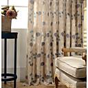 billiga Gardiner och draperier-Färdigsydda Mörkläggande Mörkläggning Gardiner draperier En panel 107 x 244cm / Sovrum