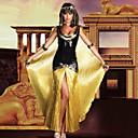 billiga Halloween- och karnevalkostymer-Egyptiska Dräkter Cosplay Kostymer / Dräkter Dam Halloween Karnival Festival / högtid Pajljett Elastisk Satäng Dam Karnival Kostymer