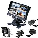 billiga Parkeringskamera för bil-7 tum 170 grader Car Reversing Monitor Vattentät för Buss