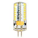 ราคาถูก หลอดไฟ-YWXLIGHT® 1pc 6.5 W หลอด LED รูปข้าวโพด 650 lm G4 T 72 ลูกปัด LED SMD 3014 ขาวนวล ขาวเย็น 12 V 24 V / 1 ชิ้น / RoHs