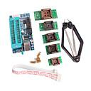 billiga Kit-pic K150 programmerare usb automatisk programmering med PLCC IC tester sits adapter kit för att utveckla mikro