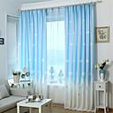 billiga Mörkläggningsgardiner-en panel utskrift gardin tre färger gardin drapera