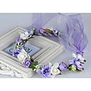 Χαμηλού Κόστους Λουλούδια Γάμου-Ύφασμα Καλύμματα Κεφαλής / Στεφάνια με Φλοράλ 1pc Γάμου / Ειδική Περίσταση / Causal Headpiece