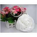 Χαμηλού Κόστους Σετ Κοσμημάτων-Γυναικεία Λουλούδι Σατέν Βραδινή τσάντα Μονόχρωμο Λευκό / Γκρίζο / Φθινόπωρο & Χειμώνας