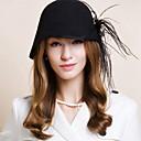 billige Hårpleie og styling-Ull Kentucky Derby Hat / Hatter med 1 Bryllup / Spesiell Leilighet / Avslappet Hodeplagg