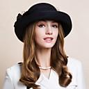 ราคาถูก เครื่องประดับผมสำหรับงานปาร์ตี้-ขนสัตว์ Kentucky Derby Hat / หมวก / ฮารด์แวร์ กับ ดอกไม้ 1pc งานแต่งงาน / โอกาสพิเศษ / ที่มา หูฟัง