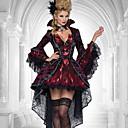 Χαμηλού Κόστους Ενσύρματα ακουστικά-Vampires Στολές Ηρώων Γυναικεία Halloween Απόκριες Γιορτές / Διακοπές Σιφόν Δαντέλα Γυναικεία Αποκριάτικα Κοστούμια / Κορσέδες