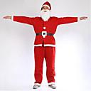 povoljno Santa odijela & Božićna haljina-Kostimi - Kaput / Pojas / Šešir / Naušnica - za Božić