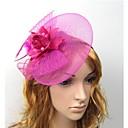 Χαμηλού Κόστους Καπέλα και Διακοσμητικά-Γυναικεία Δαντέλα Κεφαλόδεσμοι Fascinators Γάμου Πάρτι